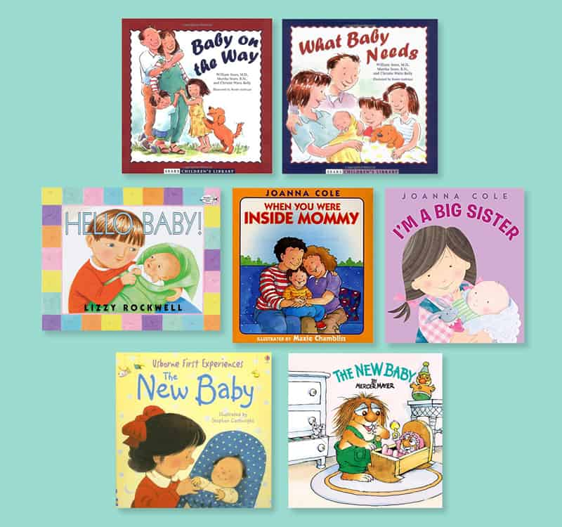 books for preparing kids for a new baby