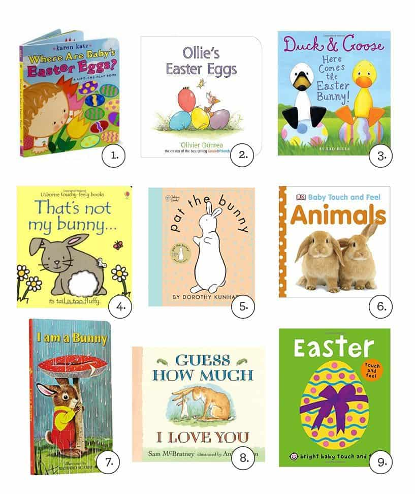 Easter board books