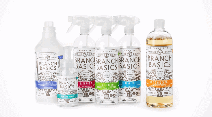 My review on Branch Basics - simple cleaner that cleans everything in your home. I was all about my DIY cleaner, but now I'm sold.