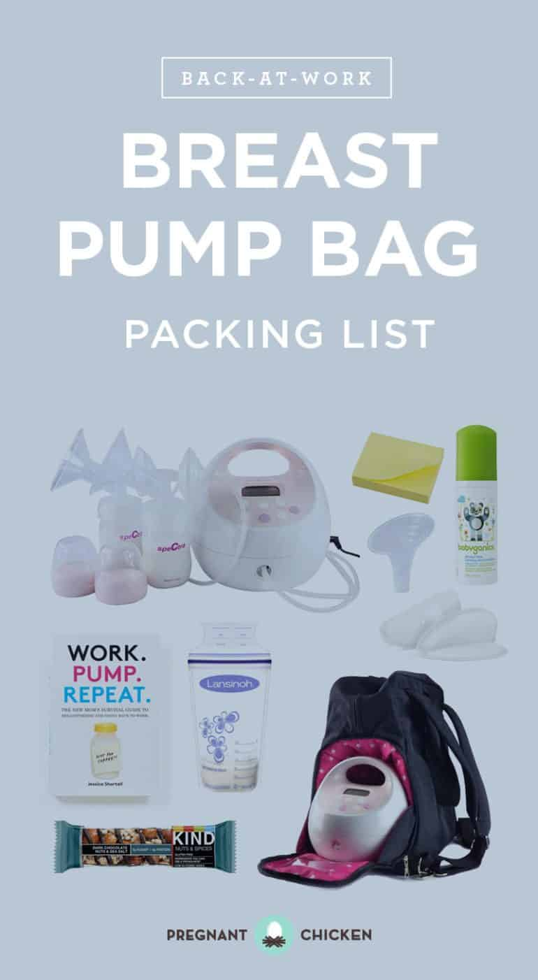 Breast Pumping at Work Packing List