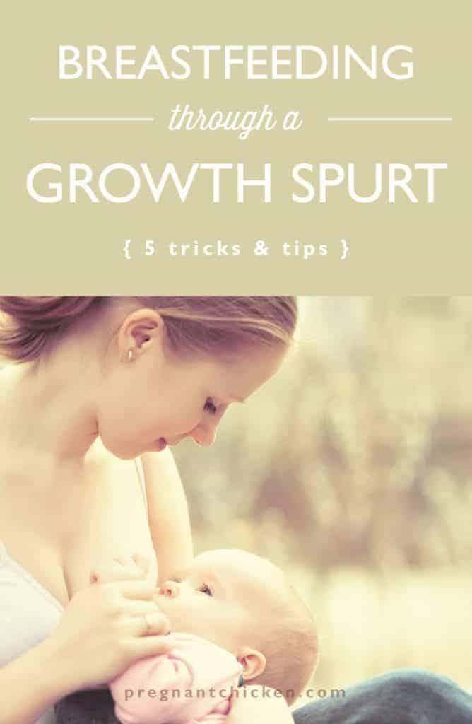 Breastfeeding Through a Growth Spurt