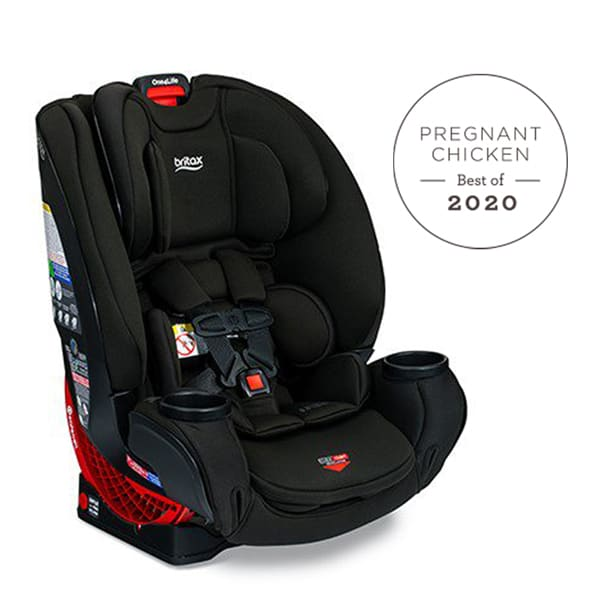 Black Britax One4Life ClickTight All-in-One Car Seat with Best Pregnancy & Baby Products for 2020 badge