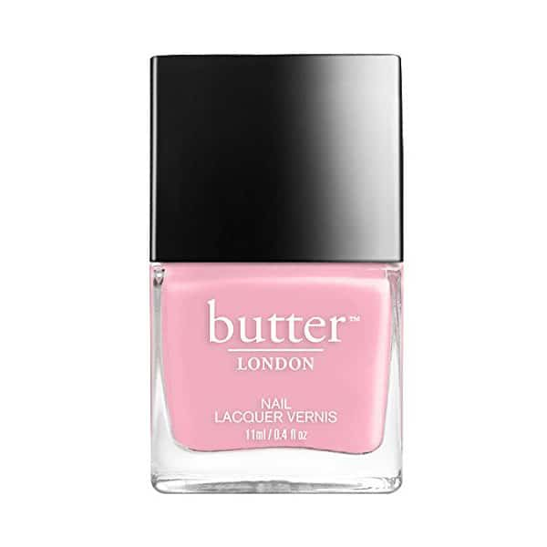 butter non-toxic nail polish in pink