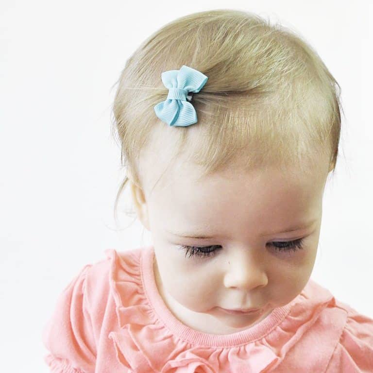 Small christmas gifts for baby girls: baby wisp hair clips