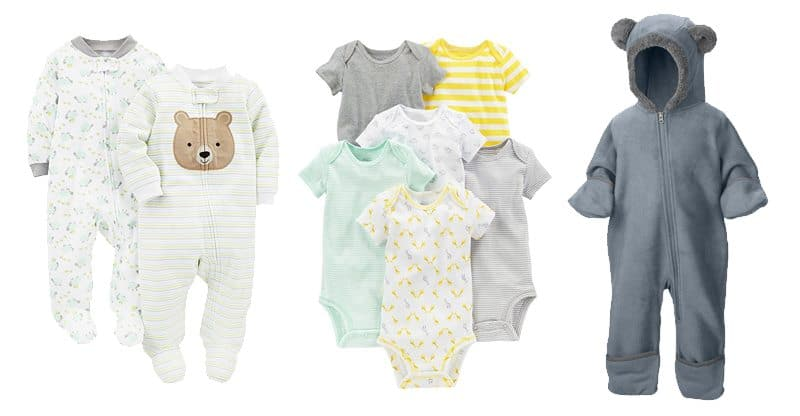 new baby clothing checklist