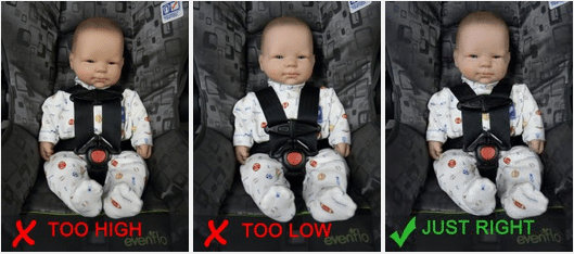 9 Common Car Seat Mistakes That Parents Make: Including chest clip position, loose straps, puffy winter coats, harness height, and seat location.