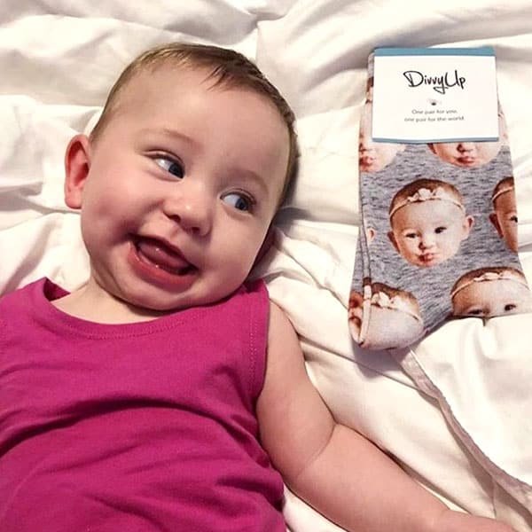 DivvyUp face socks - Father's Day gift