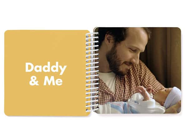 daddy and me personalized board book