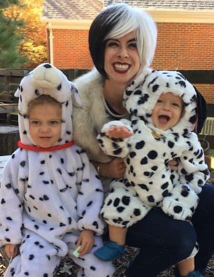 1010 Dalmatians family costume