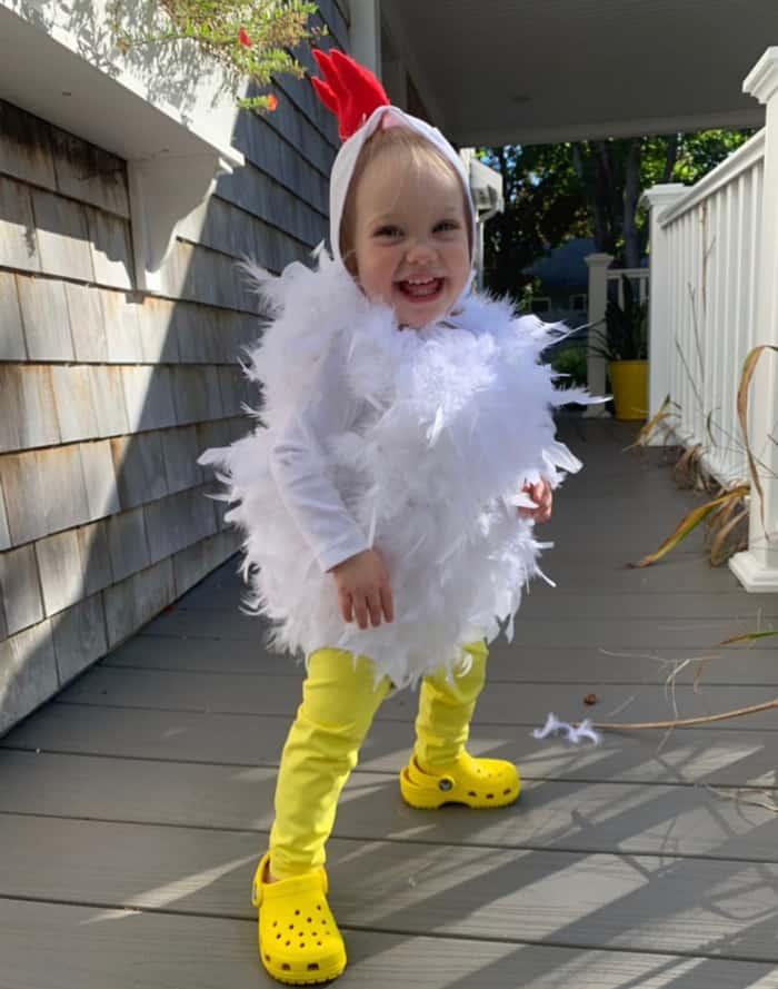 baby chicken costume