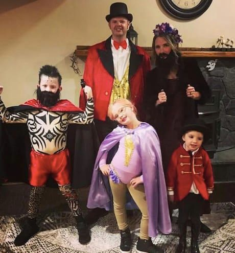 circus family halloween costume