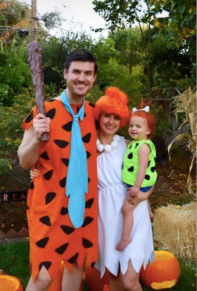 flintstones family halloween costume