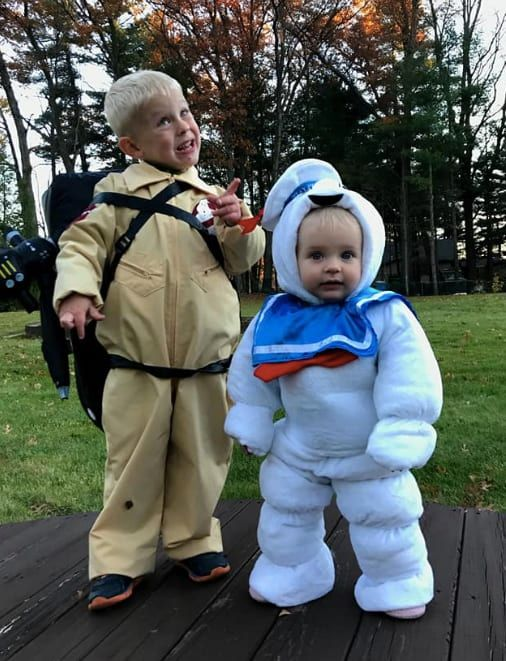 ghostbusters baby halloween costume