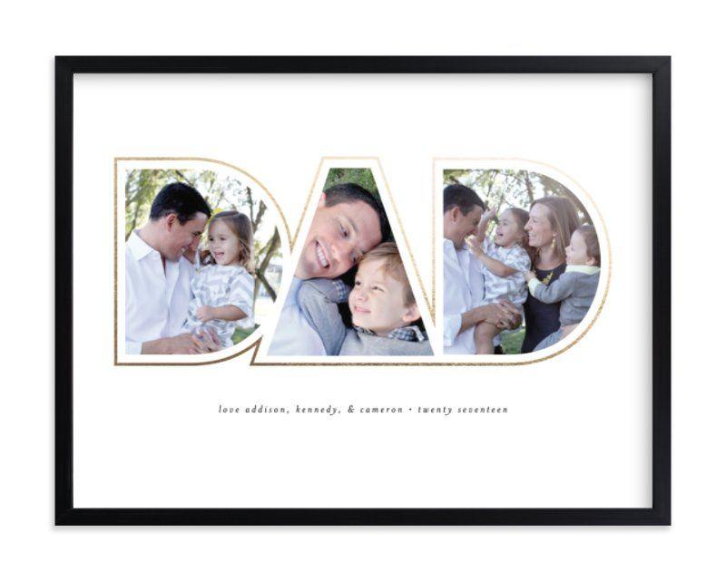 custom DAD photo print