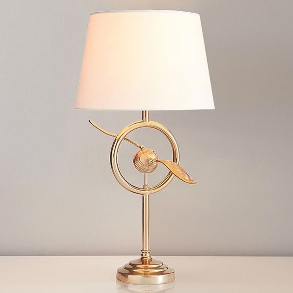 golden snitch lamp for nursery