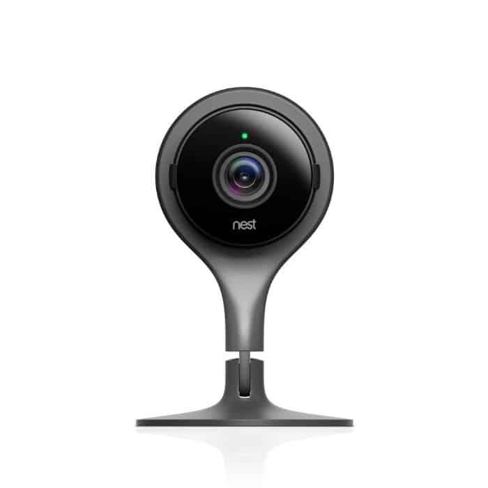 Google Nest Cam Indoor Camera, baby monitor option