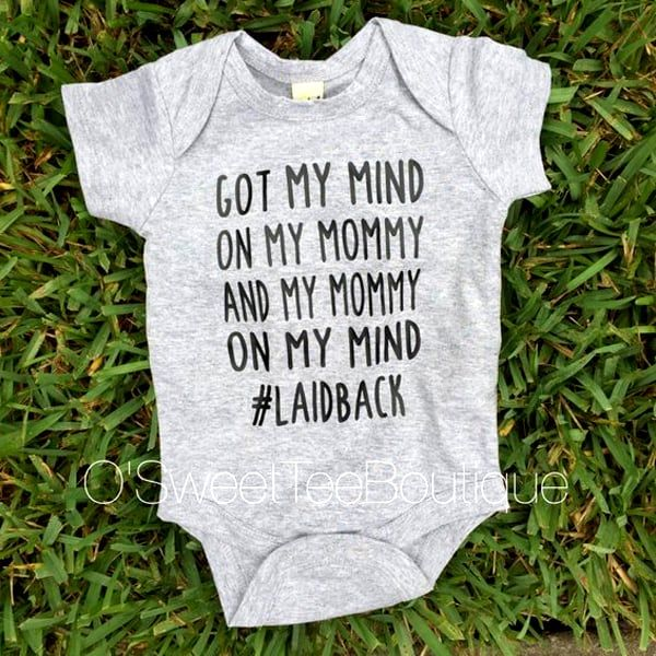 funny onesies - mommy