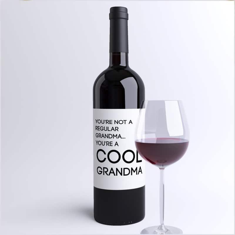 grandma wine labels