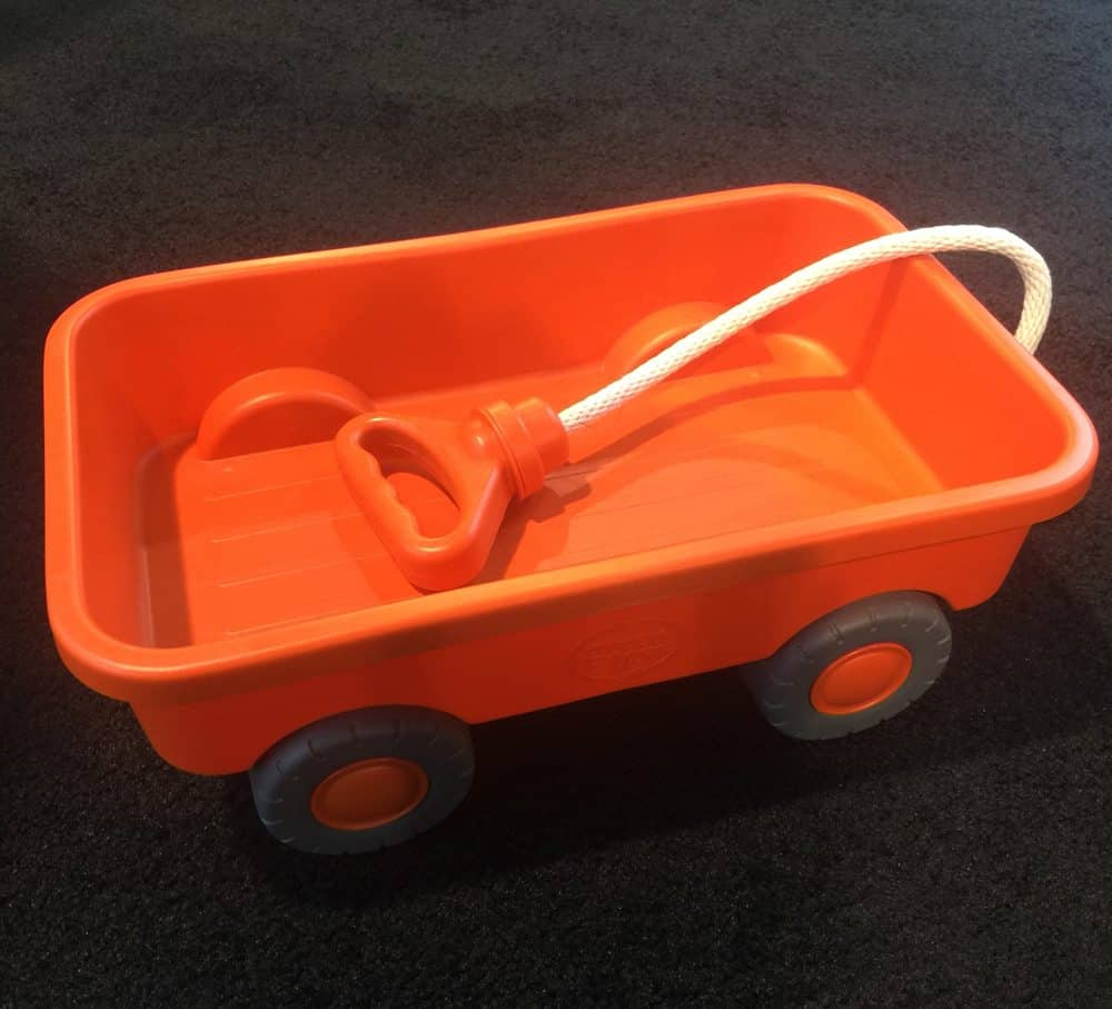 29 of the Best Pregnancy & Baby Products for 2018: Green Toys Wagon - this would make a great gift for any baby boy or girl.