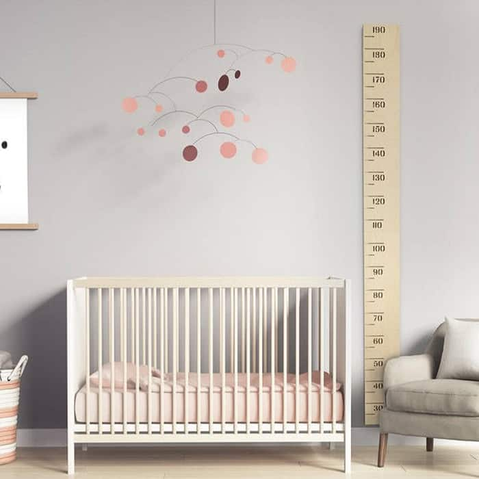 growth chart for a nursery or baby gift