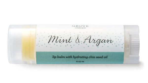 The Best New Mom Finds on Grove Collaborative: Mint & Argan Lip Balm