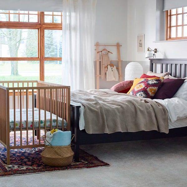 nursery nook created using IKEA furniturenursery nook created using IKEA furniture