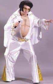 DIY pregnant Elvis costume