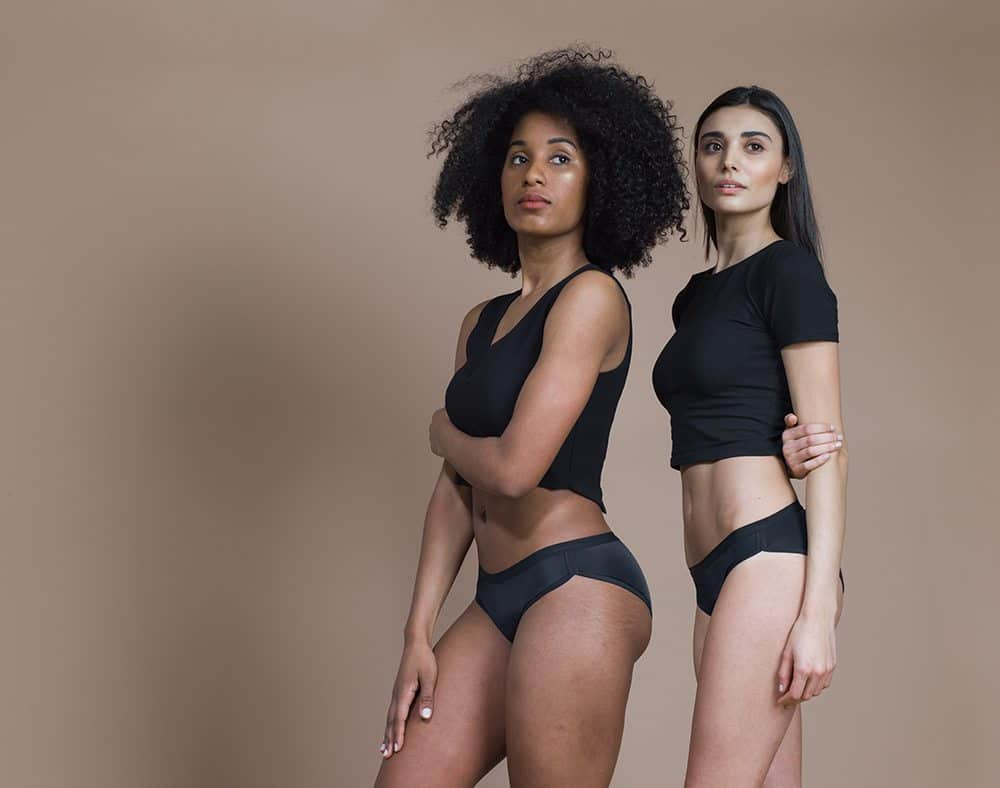 If you have mommy bladder, check out Dear Kate underwear