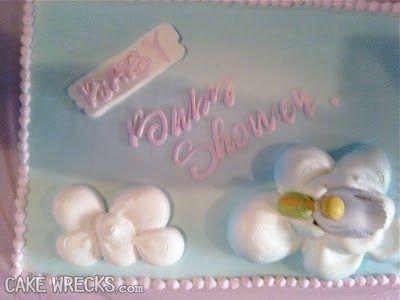 baby baby shower cake