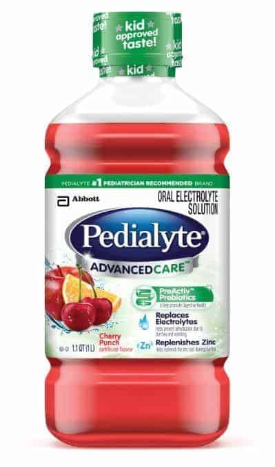 pedialyte baby safe medicine