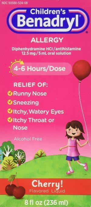 children's benadryl