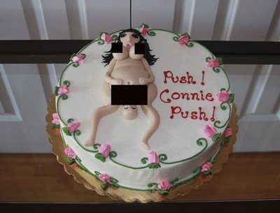 push connie push cake