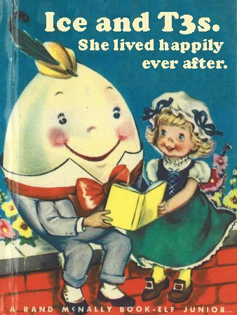 humpty dumpty book cover sums up my vbac birth story
