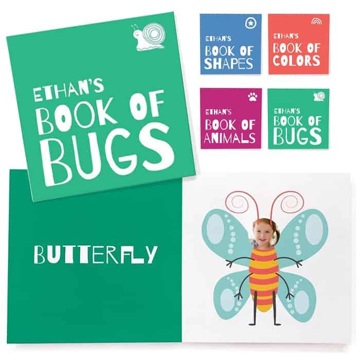 green customized board books