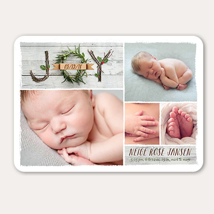 14 of the Nicest Birth Announcement Holiday Cards