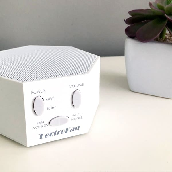 Lectrofan sound machine as unique baby shower gift