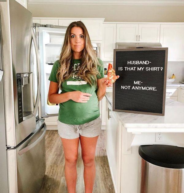 pregnancy letterboard quote