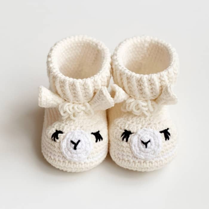 llama baby shoes