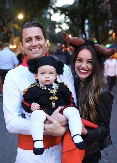 bull fighter family halloween costume