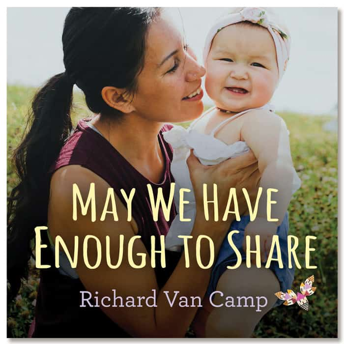 Cover of baby book May We Have Enough to Share as example of diverse board book