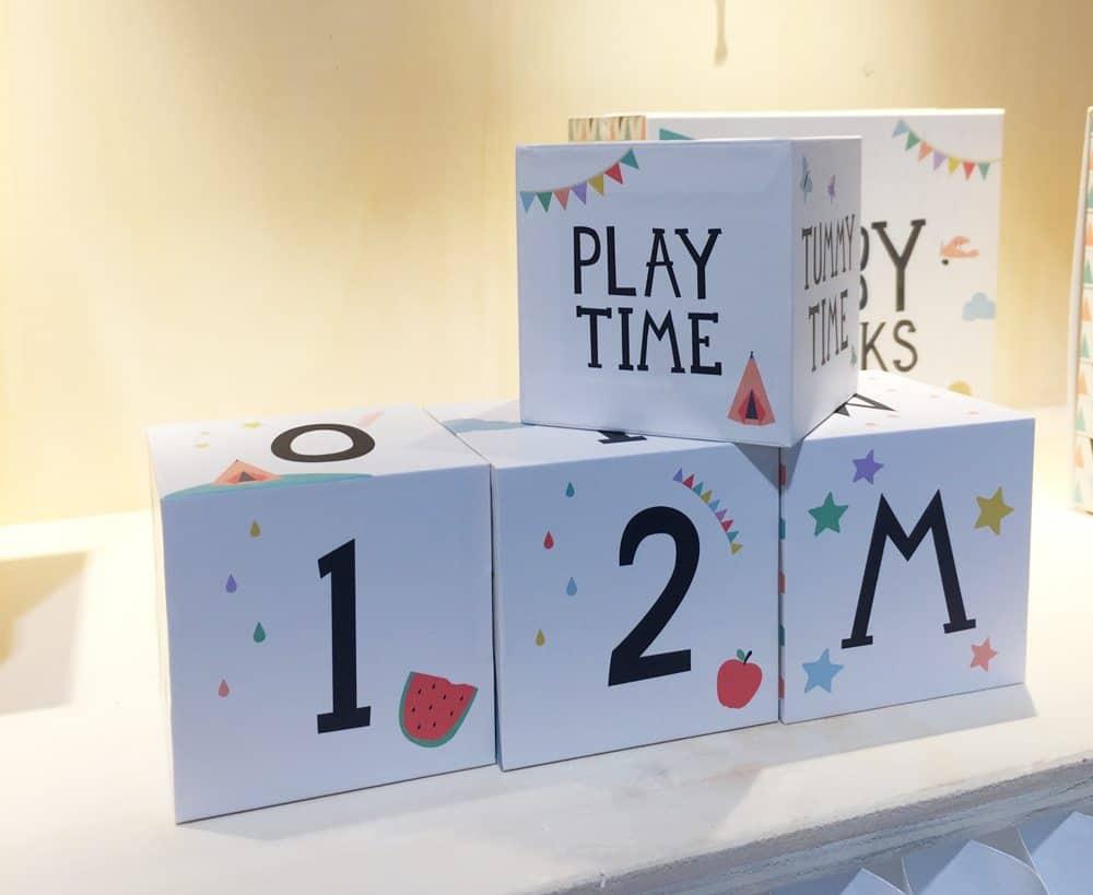 milestone blocks