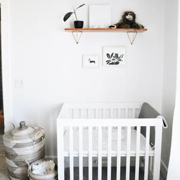 minimalist nurseryminimalist nursery