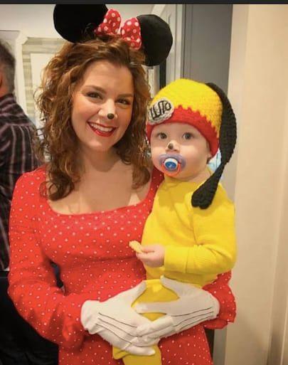 disney DIY baby halloween costume
