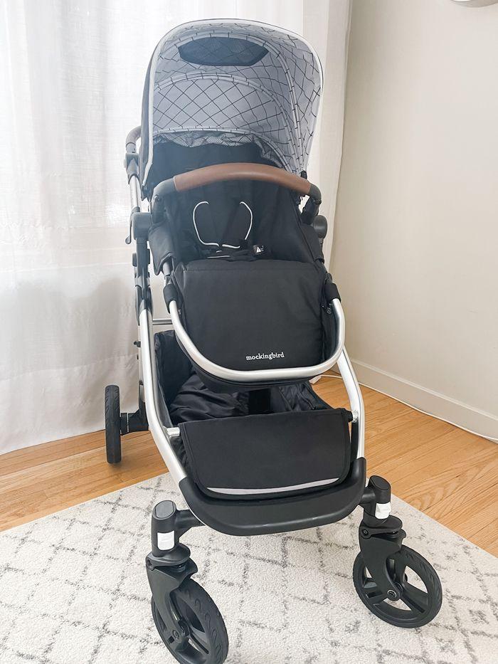 Mockingbird stroller front view