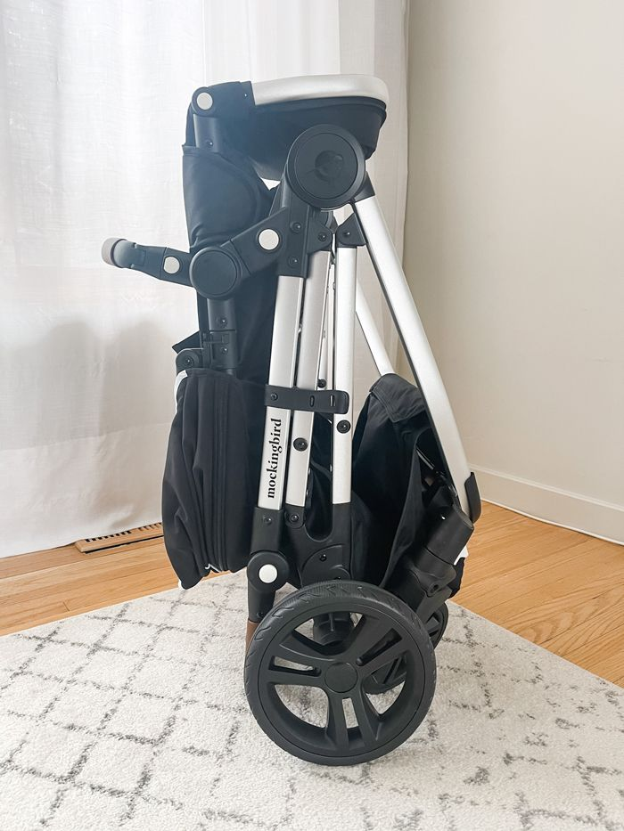 Mockingbird standing fold stroller