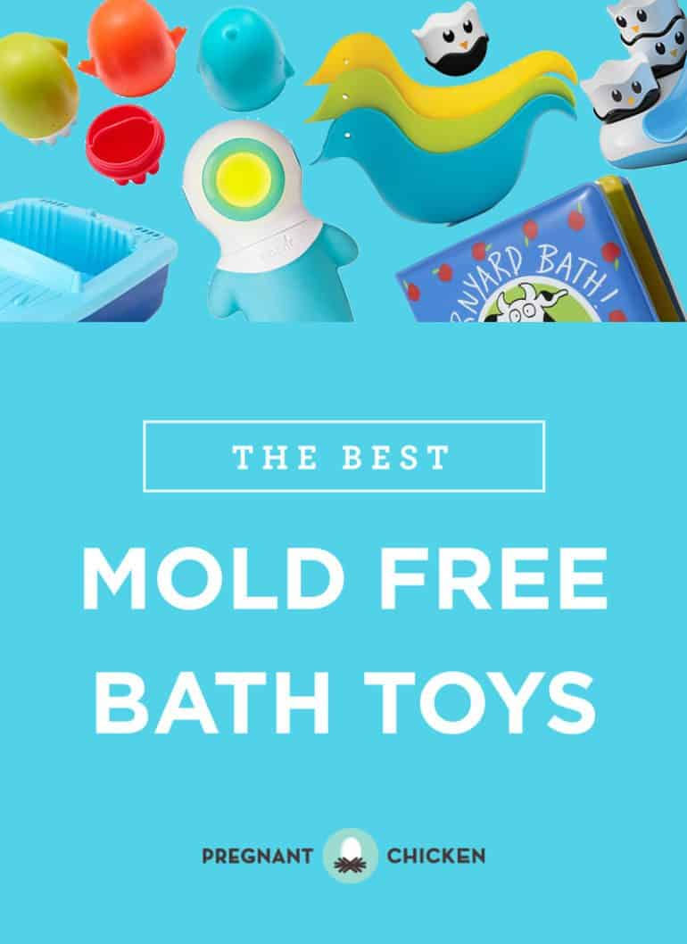The best baby and toddler bath toys that don't grow mold and mildew inside. The tops picks for easy cleaning and storage.