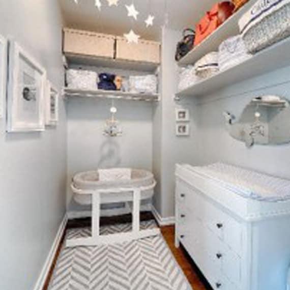 nursery set up in closetnursery set up in closet