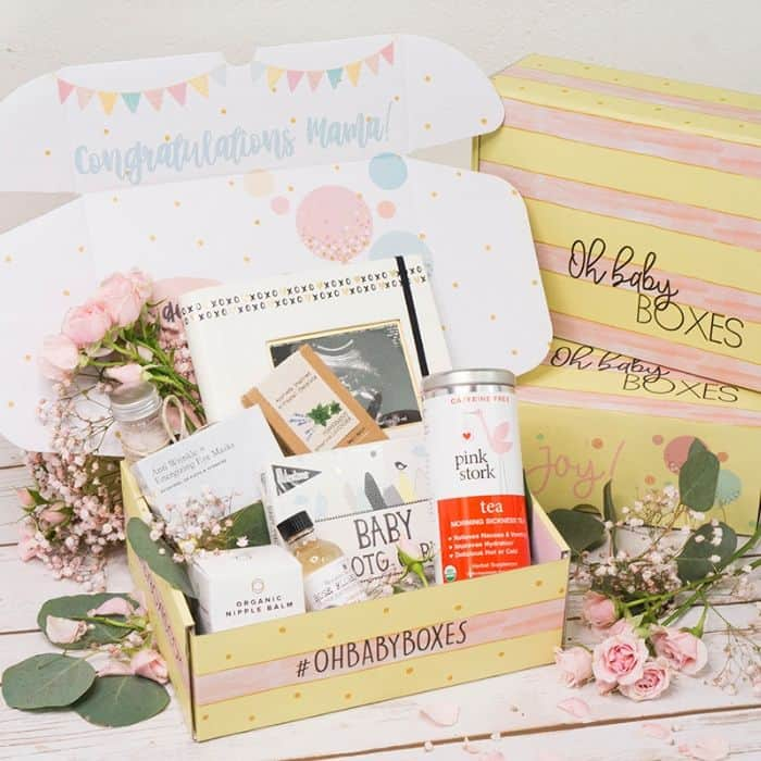 Oh Baby Boxes pregnancy subscription box
