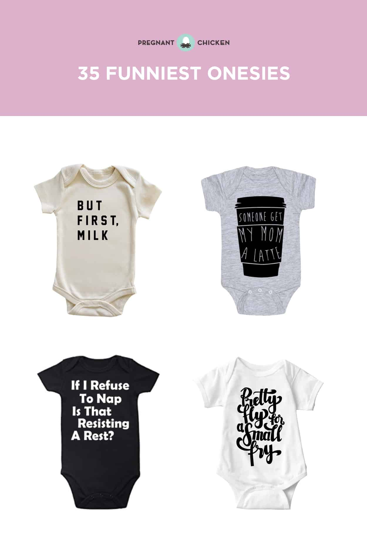 35 Funny Onesies That Tell It Like It Is