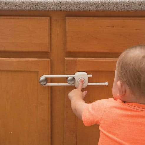 Baby Proofing Tips: The new line of Outsmart products include a decoy button